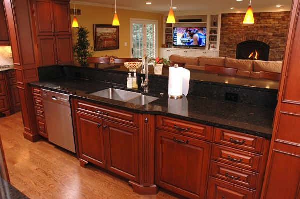 kitchen and family room addition