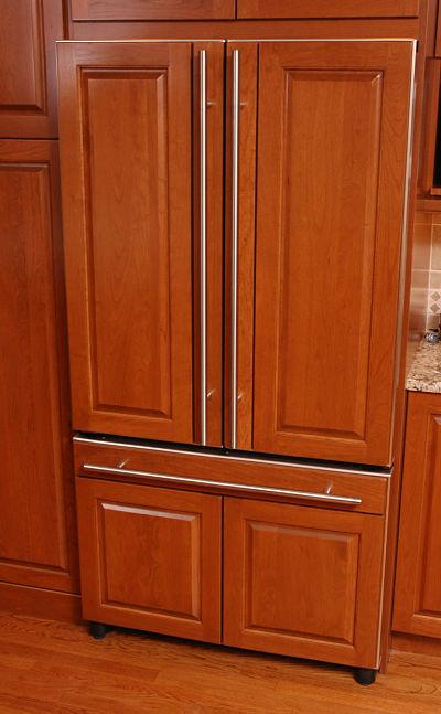 refrigerator wood door panels