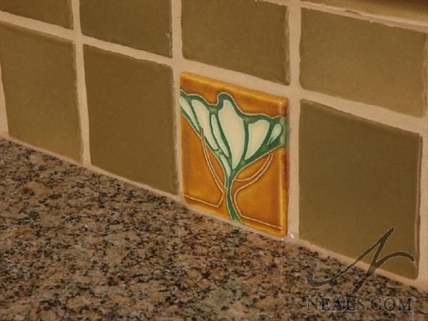 Kitchen Tile Detail