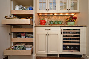 Kitchen Pantry Cabinet And Shelf Ideas