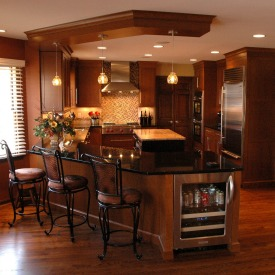 What to expect when you first meet with a kitchen design Eat in kitchen island