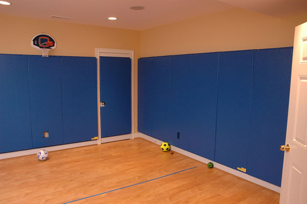 Indoor Kids Basketball Court and Playroom