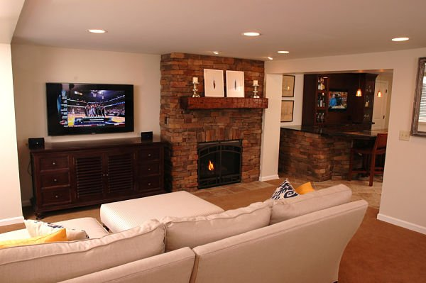 Multipurpose Lower Level Family Room