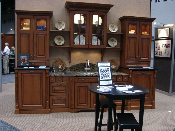 Neal's Display at the Cincinnati Home Show