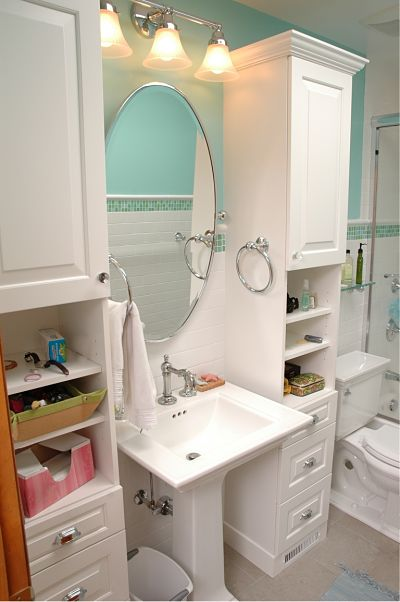 Storage Options For Small Bathrooms Credainatcon