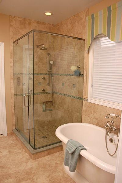 Upscale bathroom design