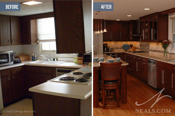 functional kitchen before after