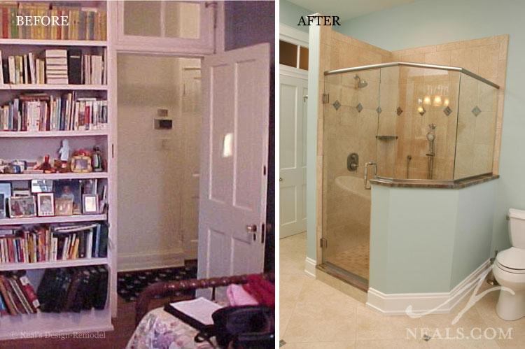 Bedroom to Bathroom Conversion