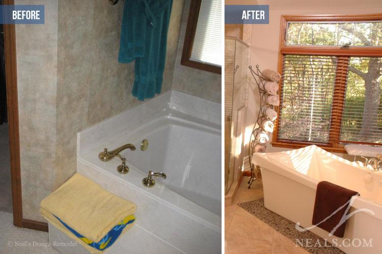 Before After Bathroom Design