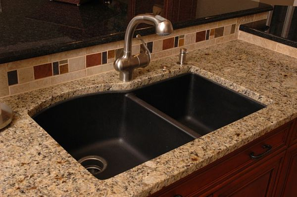 Composite kitchen sink