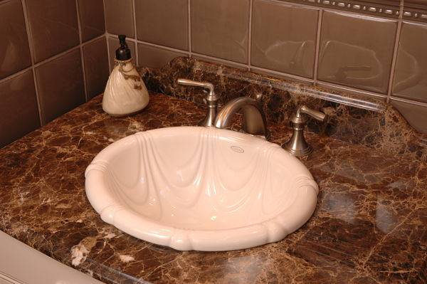 kohler drop in bathroom sink