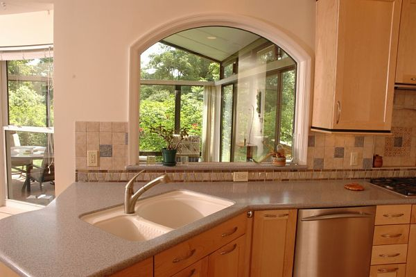 integrated kitchen sink with double bowl