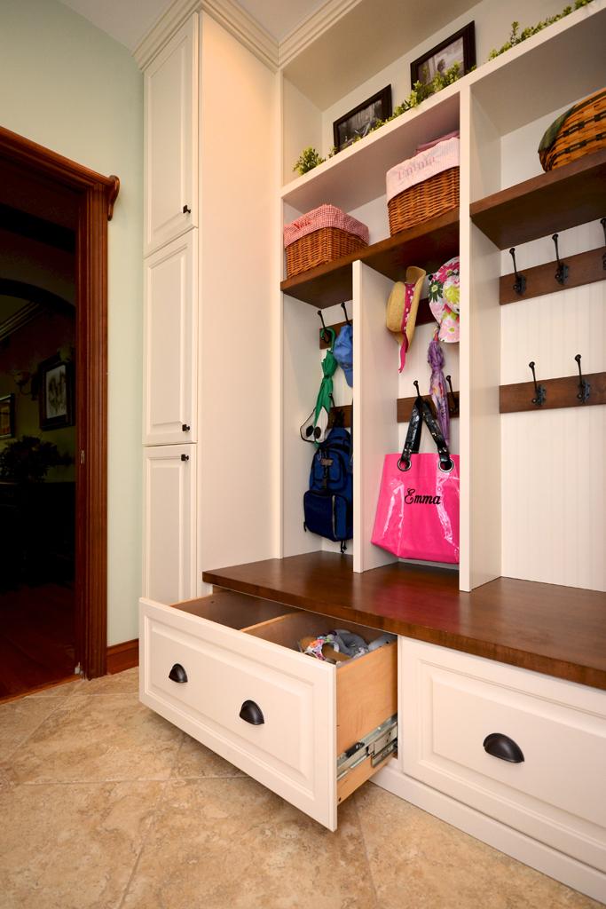 Entryway Cubbie Storage