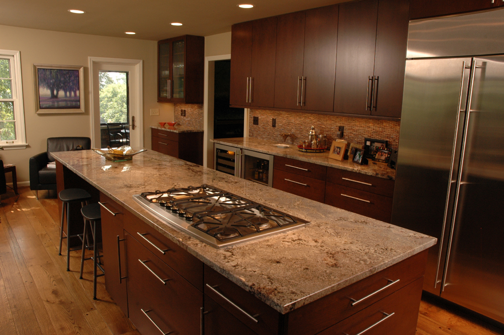 Frameless Kitchen Cabinets