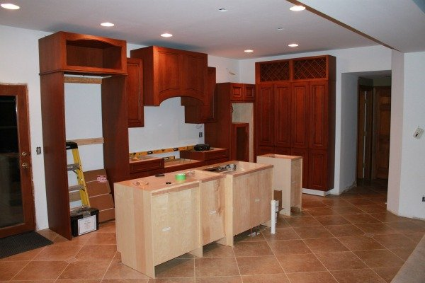 Kitchen Remodel Construction Phase
