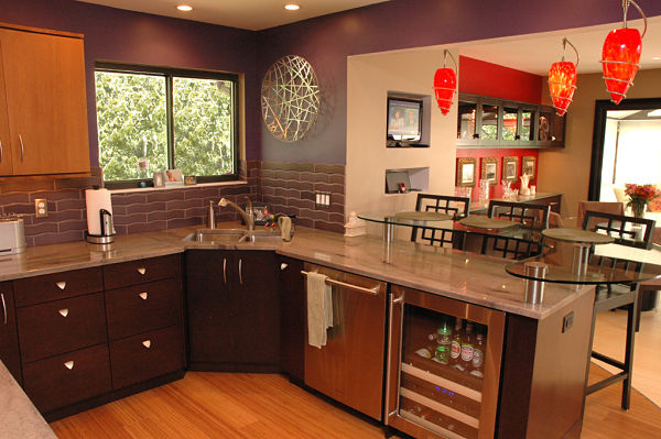Artistic Contemporary Kitchen