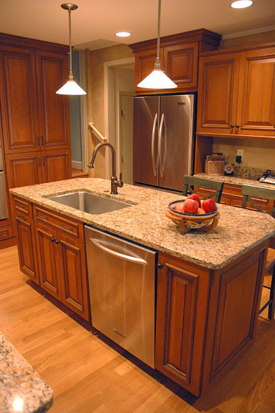 how to design a kitchen island that works kitchen island with sink and dishwasher home design ideas
