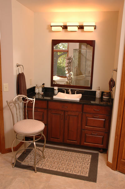 Master Bathroom Spa Vanity