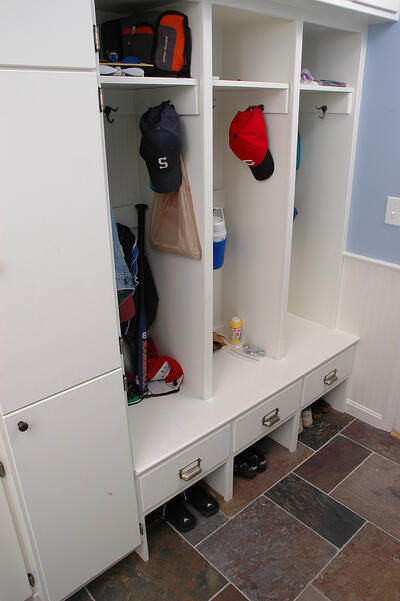 Mudroom Locker Storage