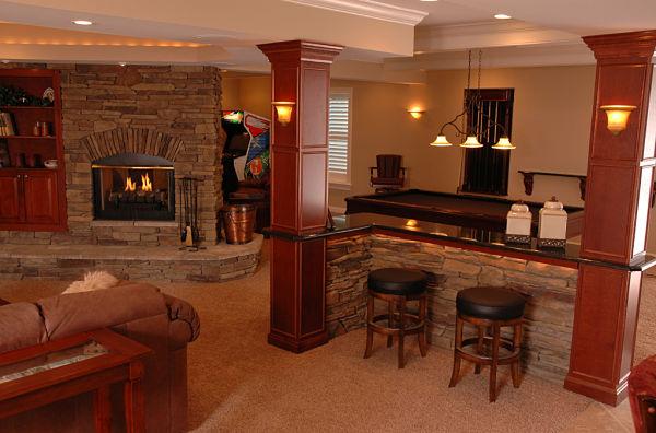 Multipurpose family room