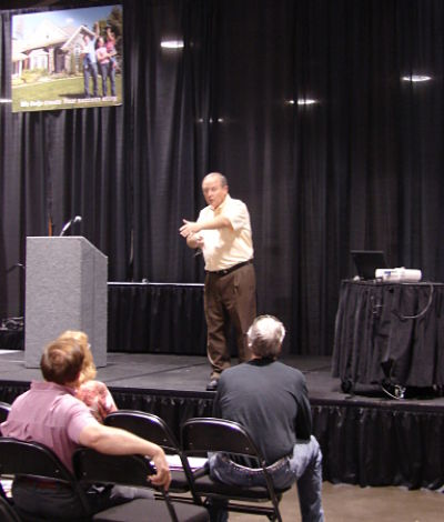 Neal's Seminar at the Greater Cincinnati Kitchen, Bath and Remodeling Show