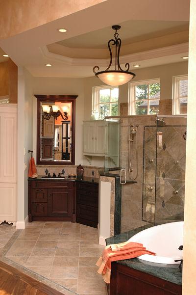 Neals Design Remodel Showroom Bathroom Display