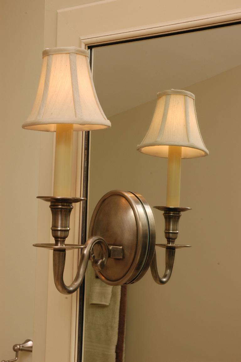 Sconce Light Built Into Mirror