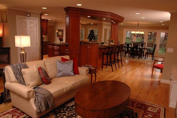 Small home open floor plan