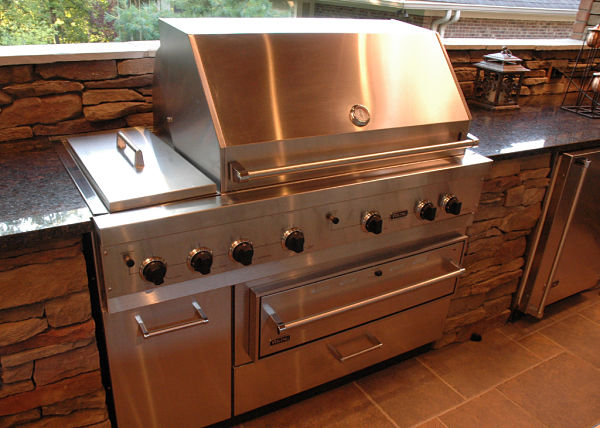 Viking outdoor appliances