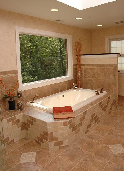 selecting bathroom tile