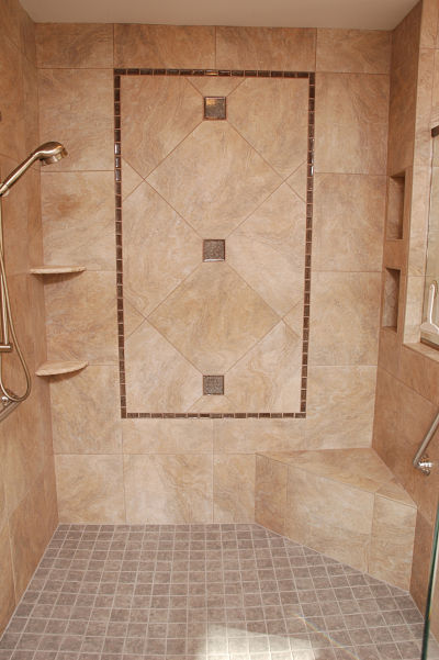 easy care bathroom tile