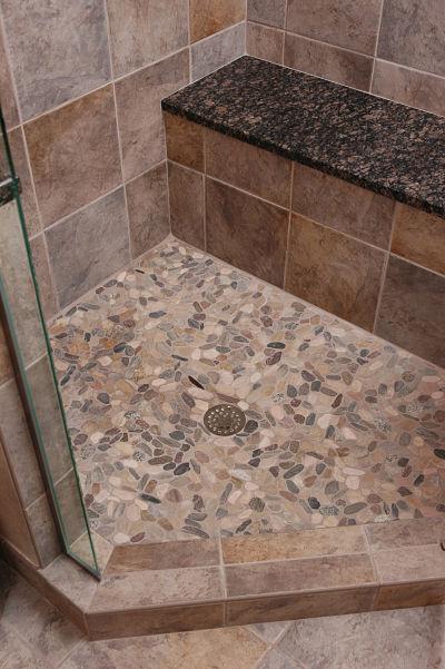 natural stone bathroom tile