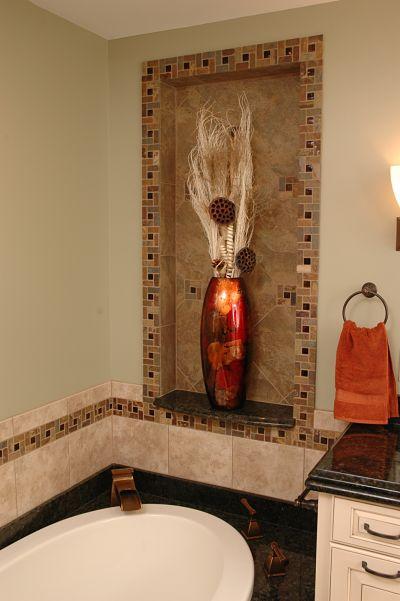 bathroom border tile