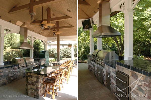 open air veranda