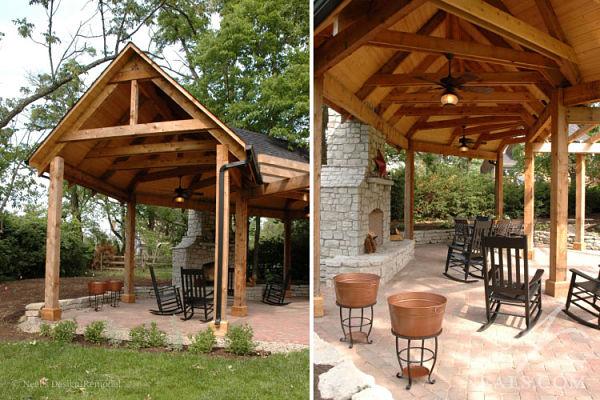 park inspired shelter