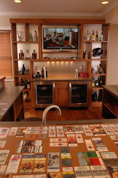 basement sports bar details