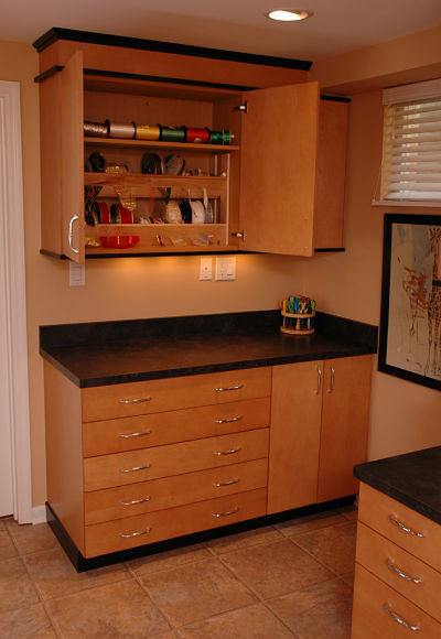 cabinet inserts for crafts storage