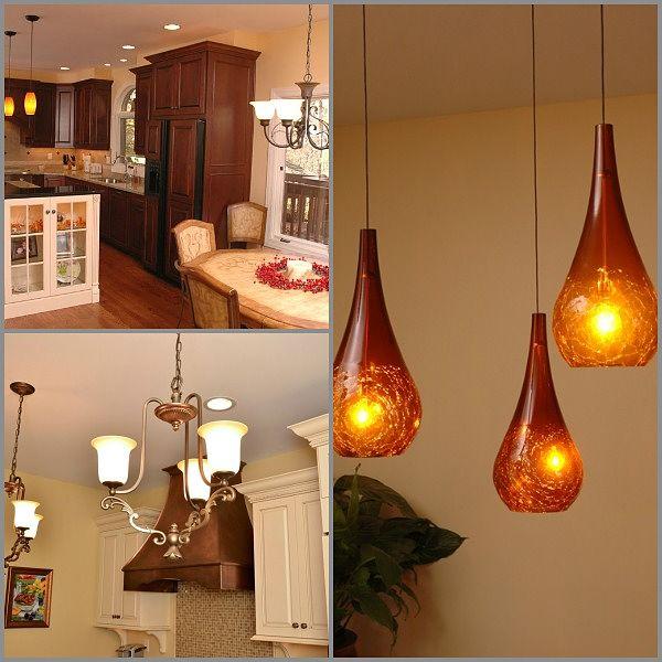 pendants and chandeliers