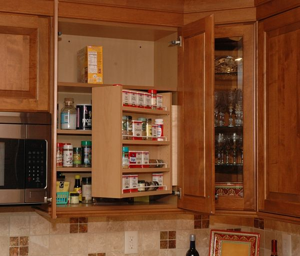 "Kitchen Cabinet Uppers: 11 ""Must Have"" Accessories For Kitchen Cabinet Storage"