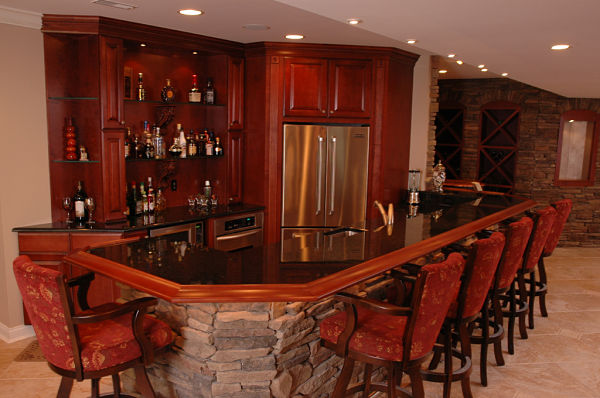 7 design ideas for basement kitchens for Second kitchen ideas