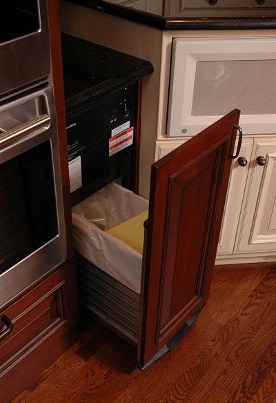 kitchen trash compactor
