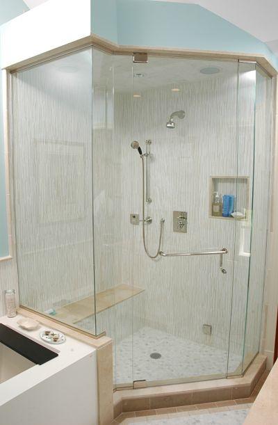 Enclosed Walkin Shower With Steam Bath