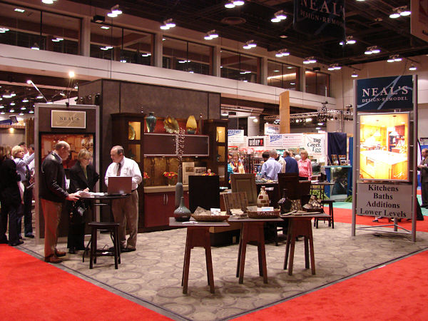Neals Home Show Booth