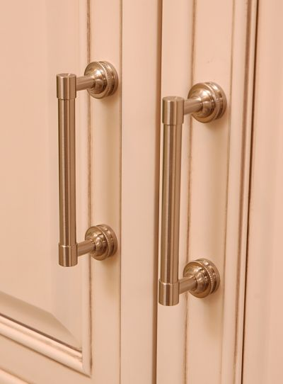 satin nickel cabinet pulls