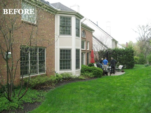 BEFORE - Outdoor Living Space