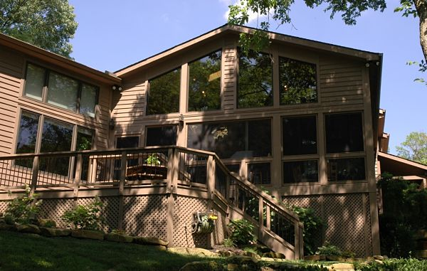 two story porch addition