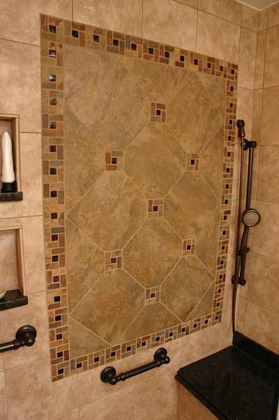master bath with universal design features