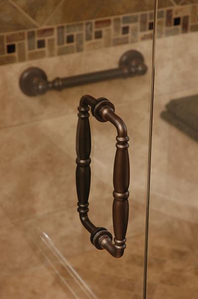 accessible shower door handle