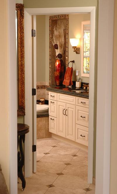 master bath with slip resistant floor