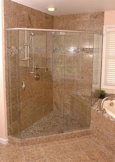 Walk in shower design ideas free guide - Walk in shower base ...
